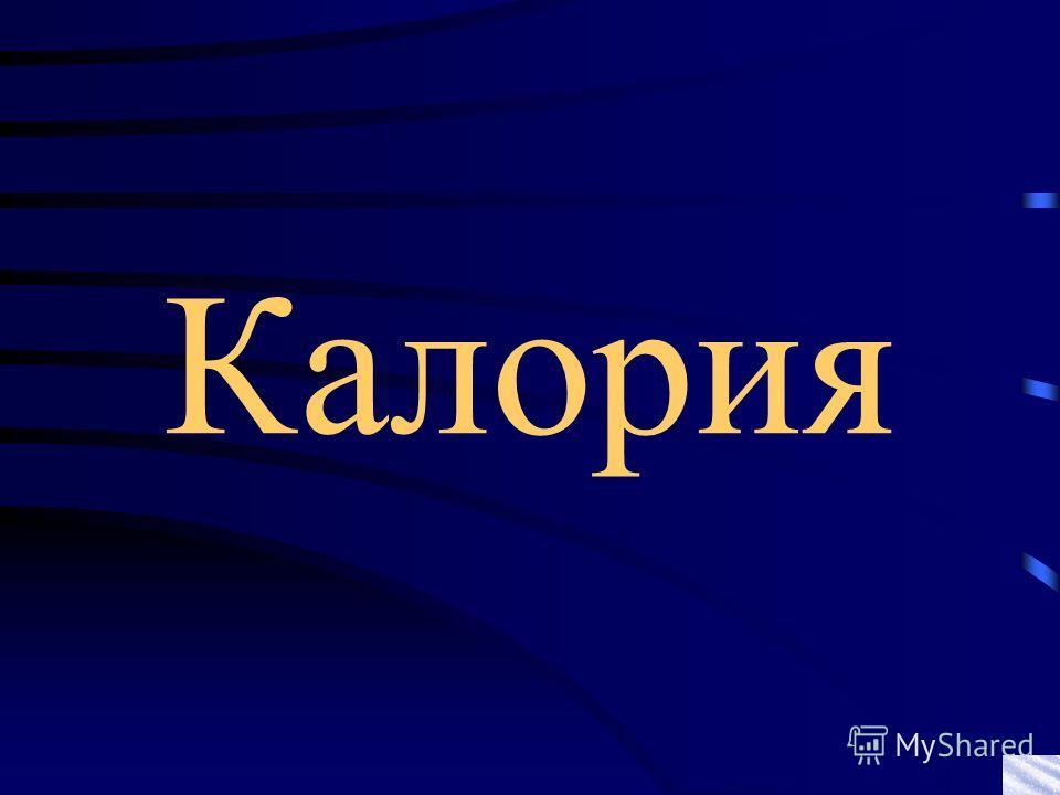 Калория