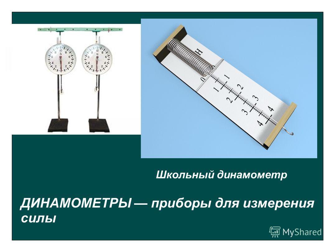 ДИНАМОМЕТРЫ приборы для измерения силы Школьный динамометр