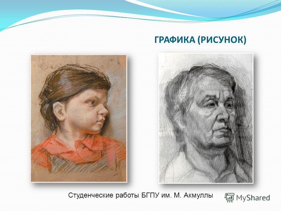 ГРАФИКА (РИСУНОК) Студенческие работы БГПУ им. М. Акмуллы