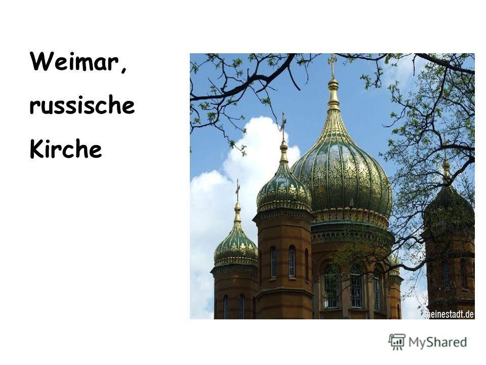 Weimar, russische Kirche