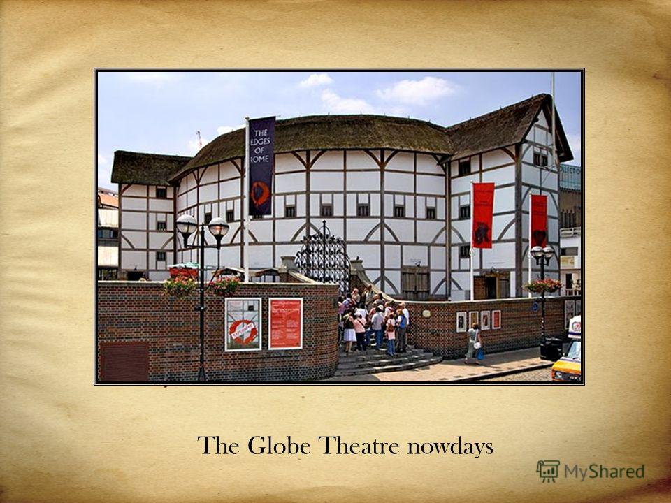 The Globe Theatre nowdays