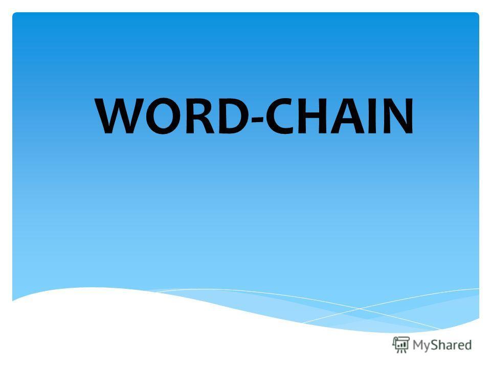 WORD-CHAIN