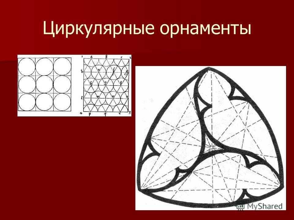 Циркулярные орнаменты