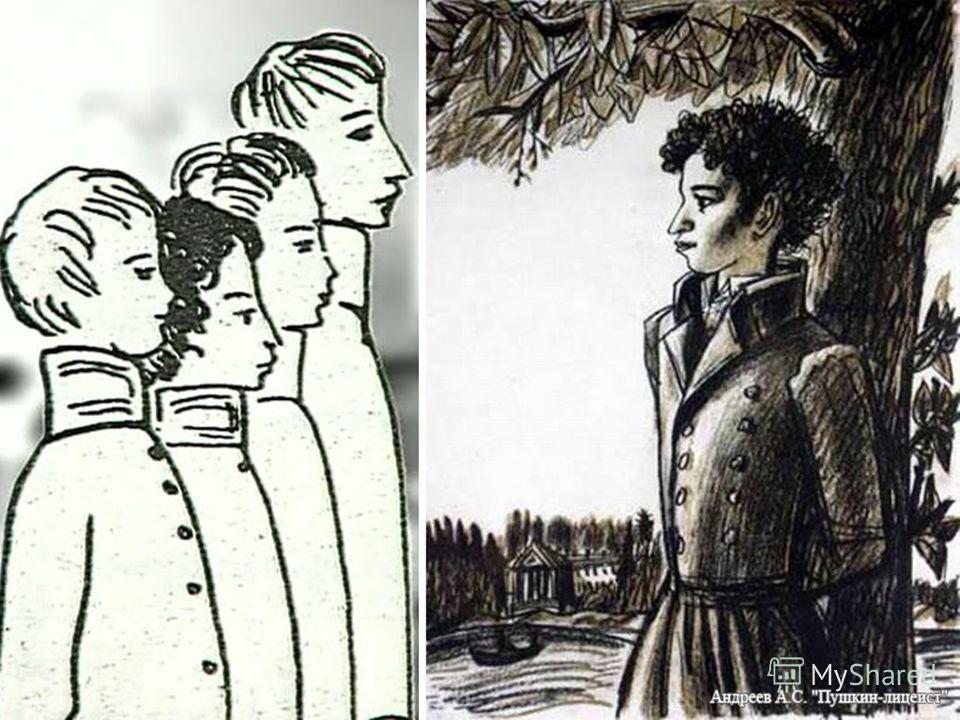 Так начались годы радостной учёбы и дружбы А. Пушкин И. Пущин А. Дельвиг А. Горчаков А. Бакунин