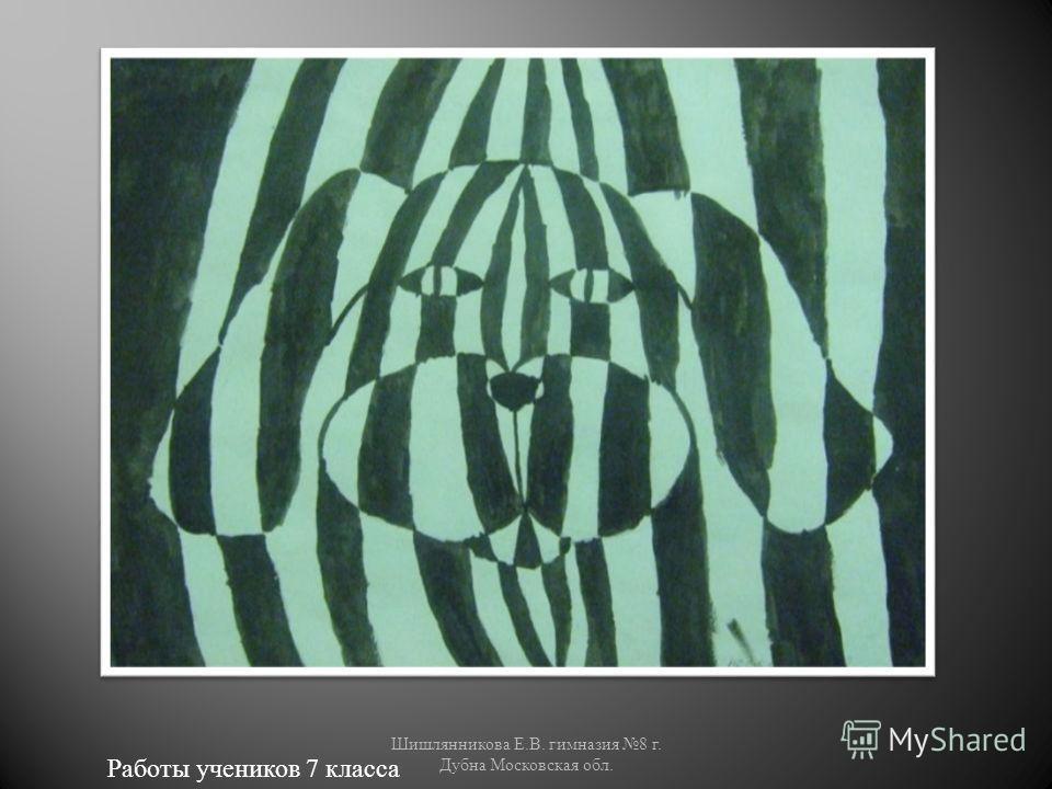 Работы учеников 7 класса Шишлянникова Е. В. гимназия 8 г. Дубна Московская обл.