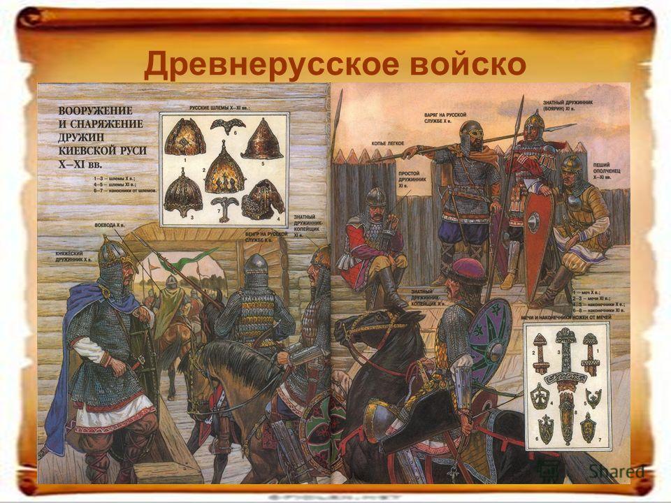 Древнерусское войско