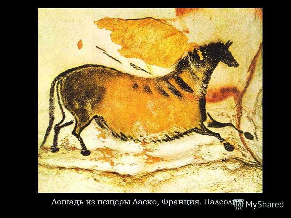 Лошадь из пещеры Ласко, Франция. Палеолит.