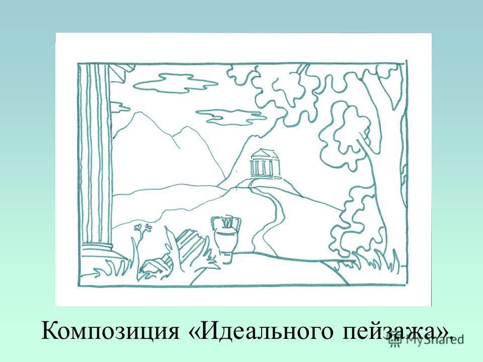 Композиция «Идеального пейзажа».