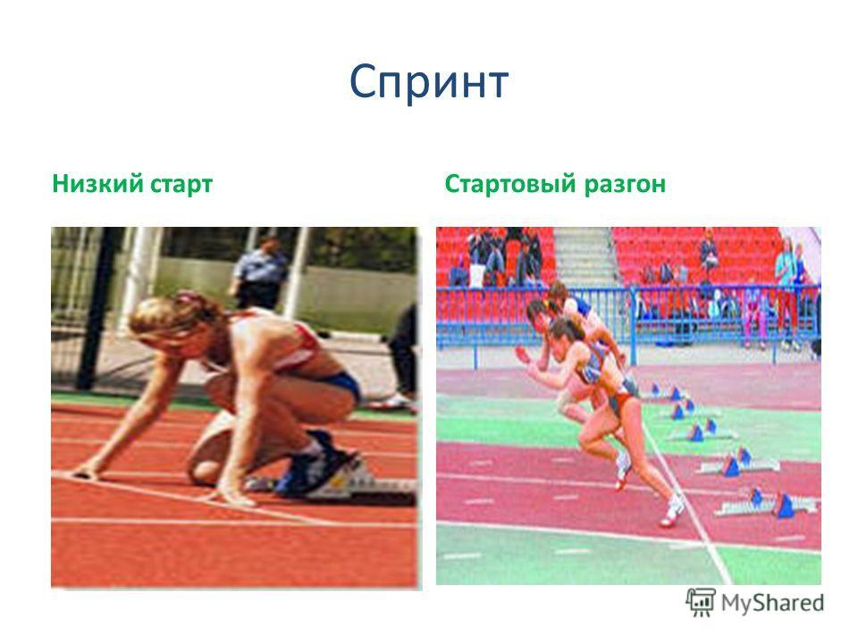 Спринт Низкий стартСтартовый разгон