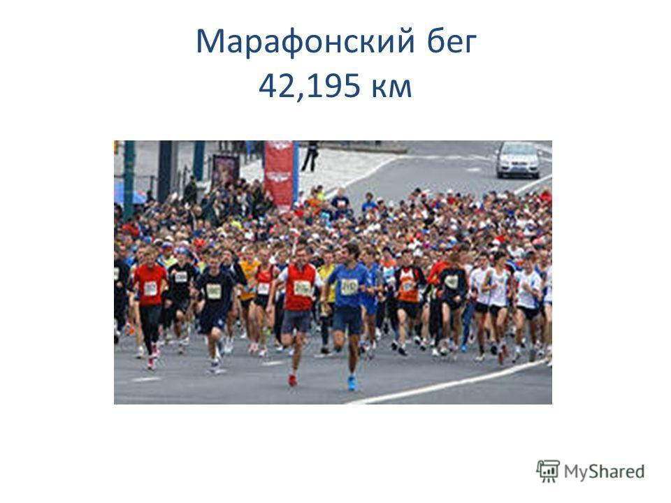 Марафонский бег 42,195 км