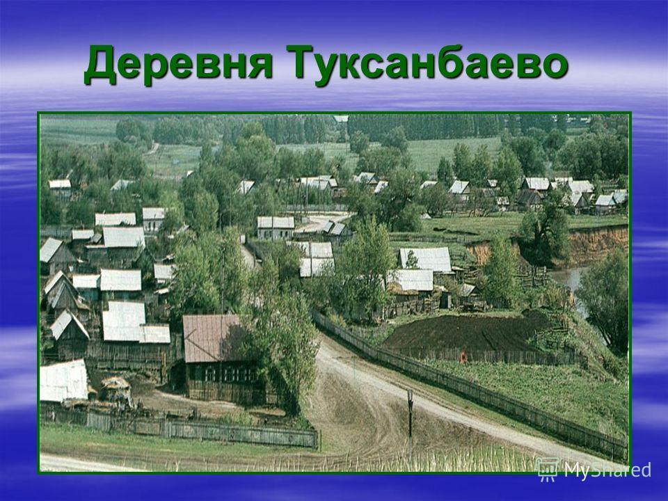 Деревня Туксанбаево