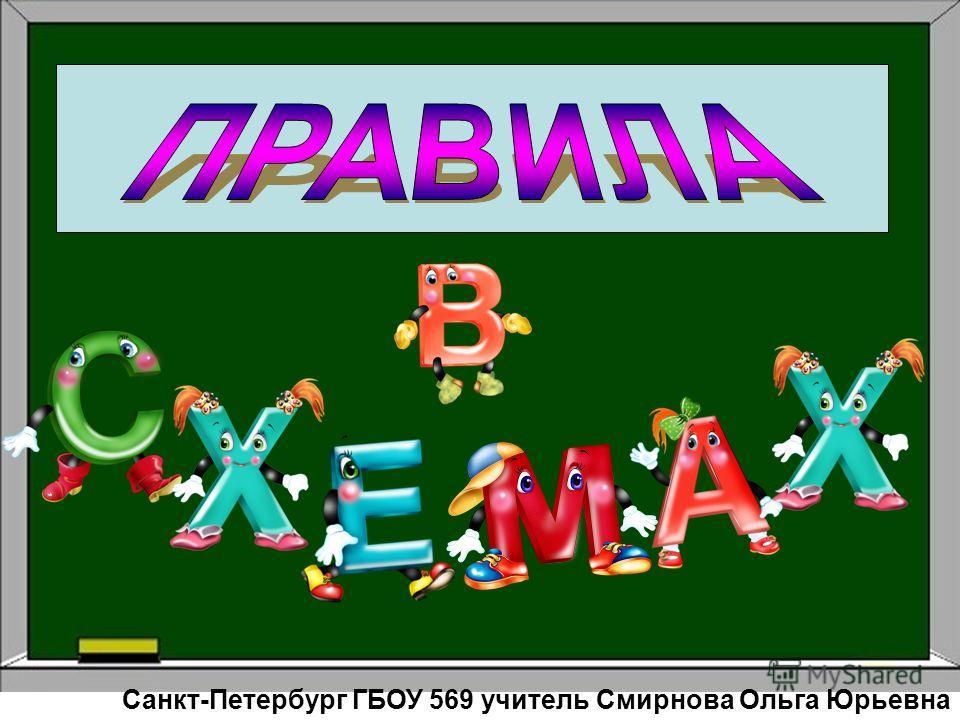 Санкт-Петербург ГБОУ 569 учитель Смирнова Ольга Юрьевна