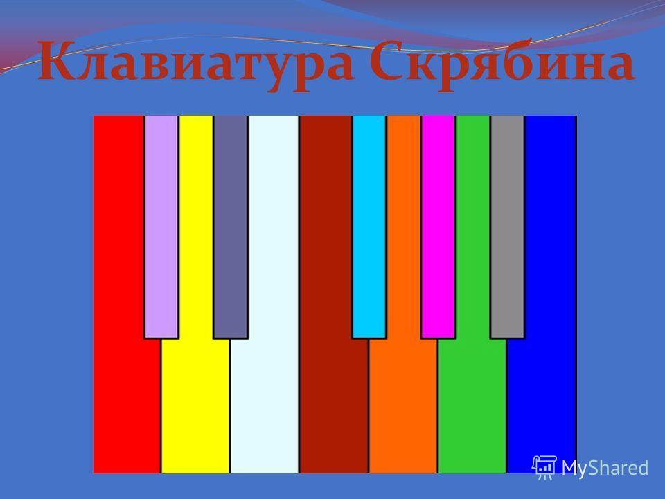 Клавиатура Скрябина