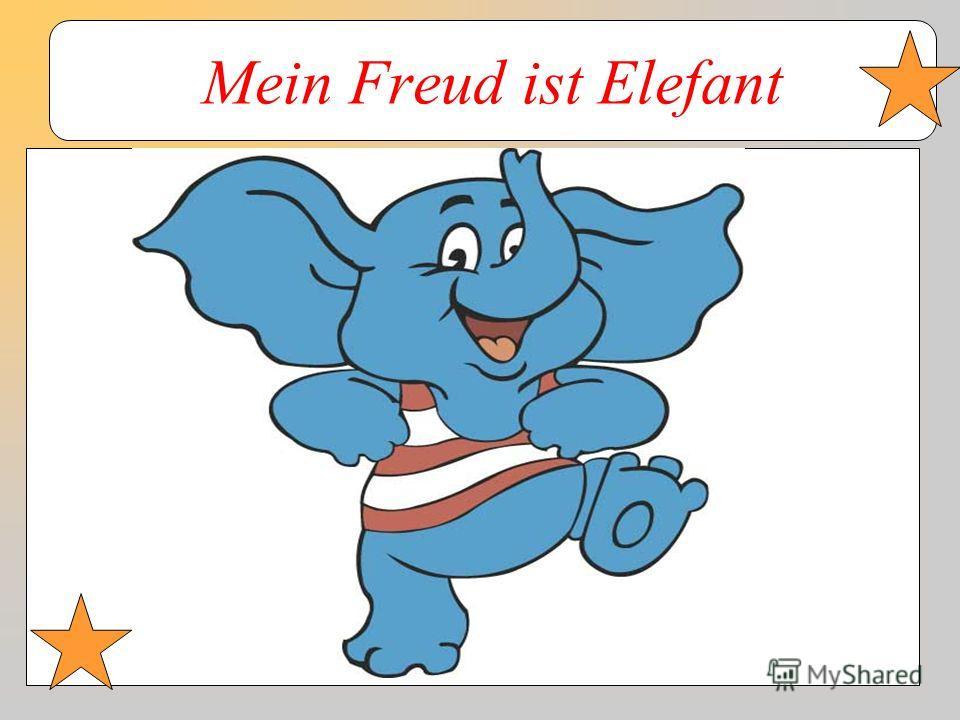 Mein Freud ist Elefant