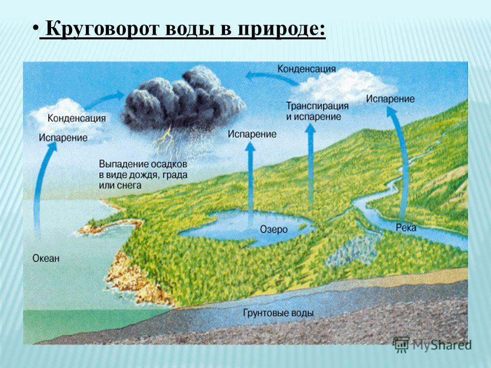 Круговорот воды в природе: