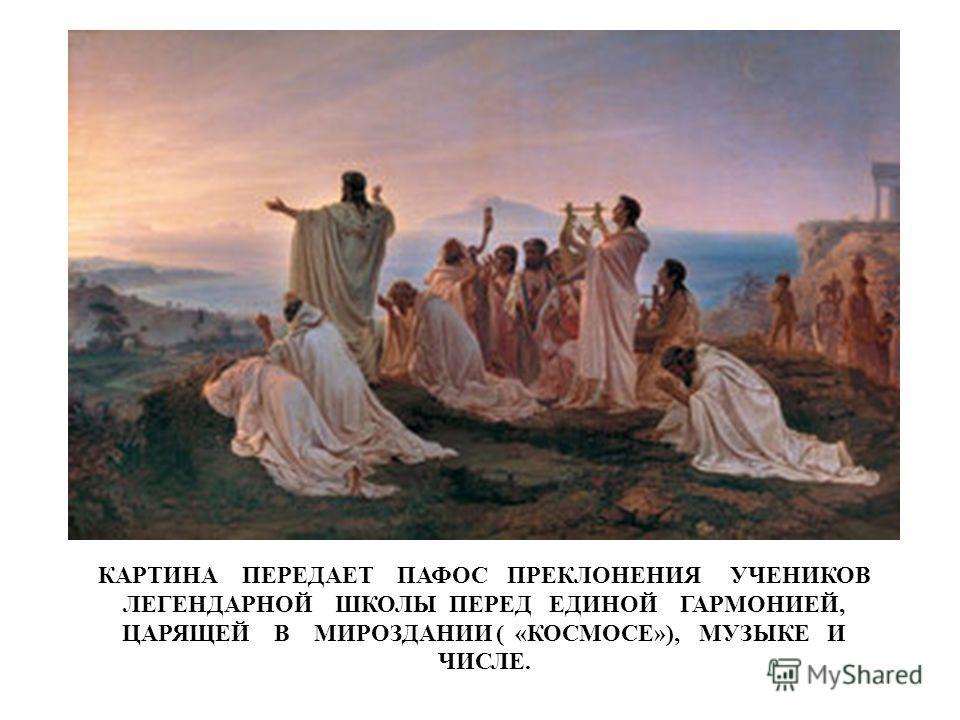 Рафаэль Санти Пифагор на фреске