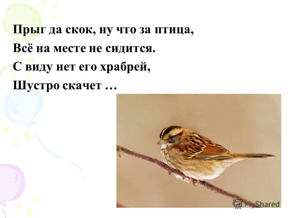 -Кар, кар, кар! – кричит плутовка. Ну и ловкая воровка! Все блестящие вещицы Очень любит эта птица! И она вам всем знакома. Как зовут её?