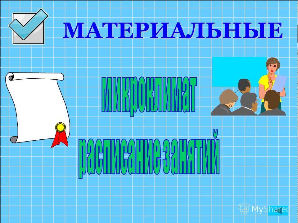МАТЕРИАЛЬНЫЕ