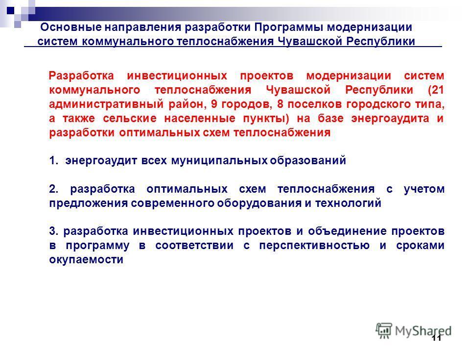 теплоснабжения Чувашской