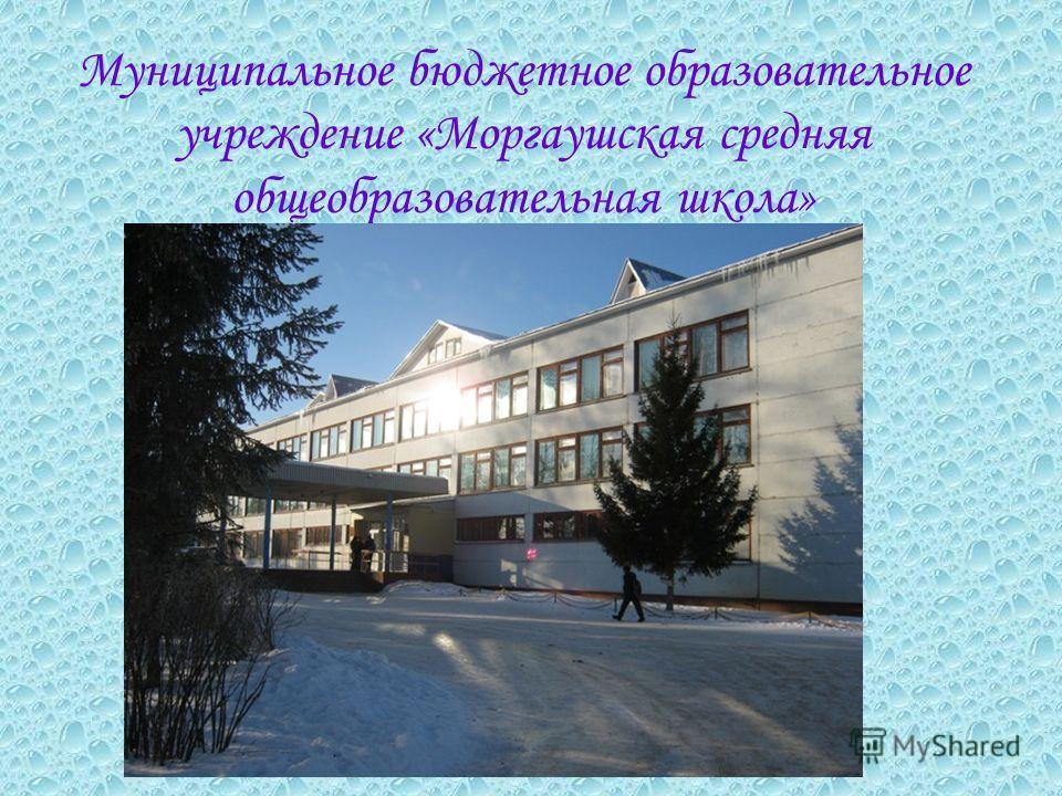 Муниципальное бюджетное образовательное учреждение «Моргаушская средняя общеобразовательная школа»