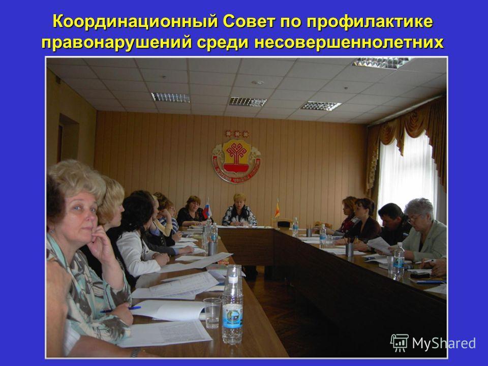 Координационный Совет по профилактике правонарушений среди несовершеннолетних