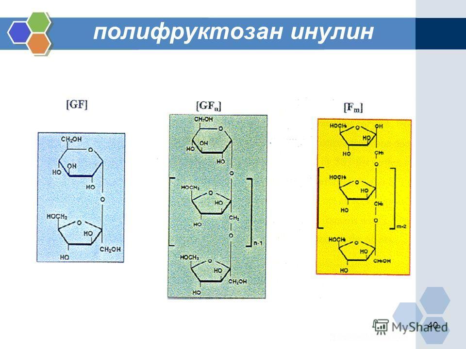 40 полифруктозан инулин