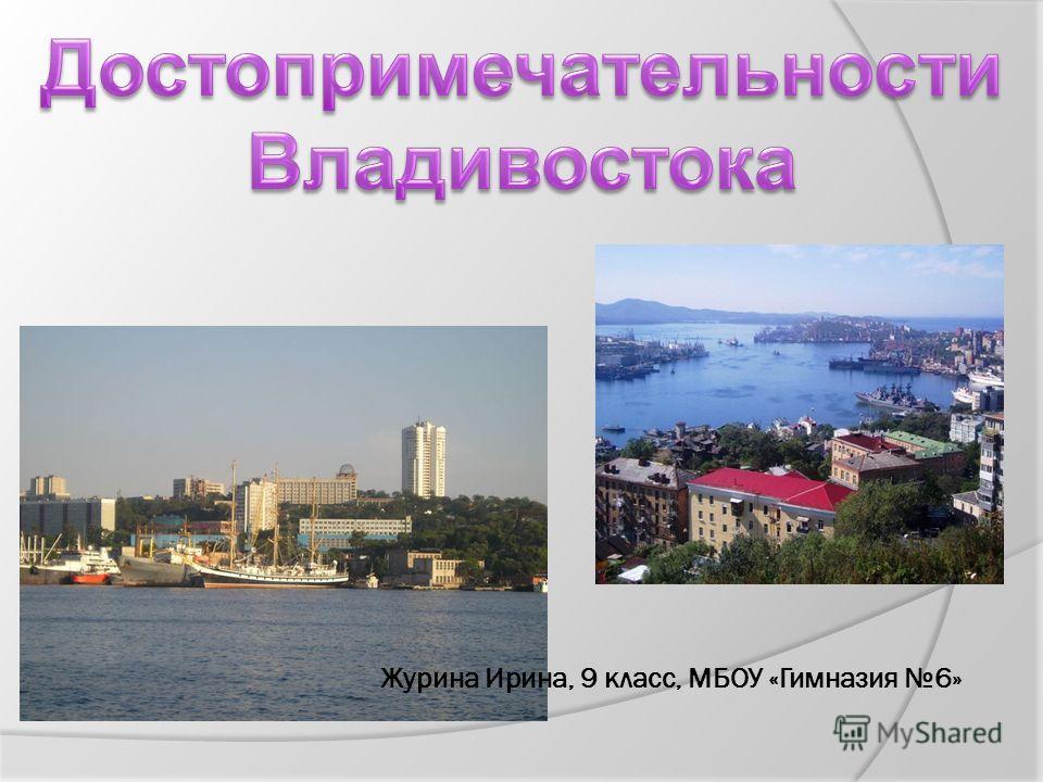 Журина Ирина, 9 класс, МБОУ «Гимназия 6»
