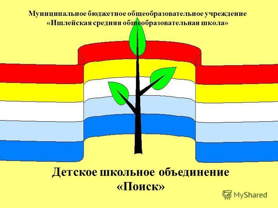 Муниципальное бюджетное общеобразовательное учреждение «Ишлейская средняя общеобразовательная школа» Детское школьное объединение «Поиск»