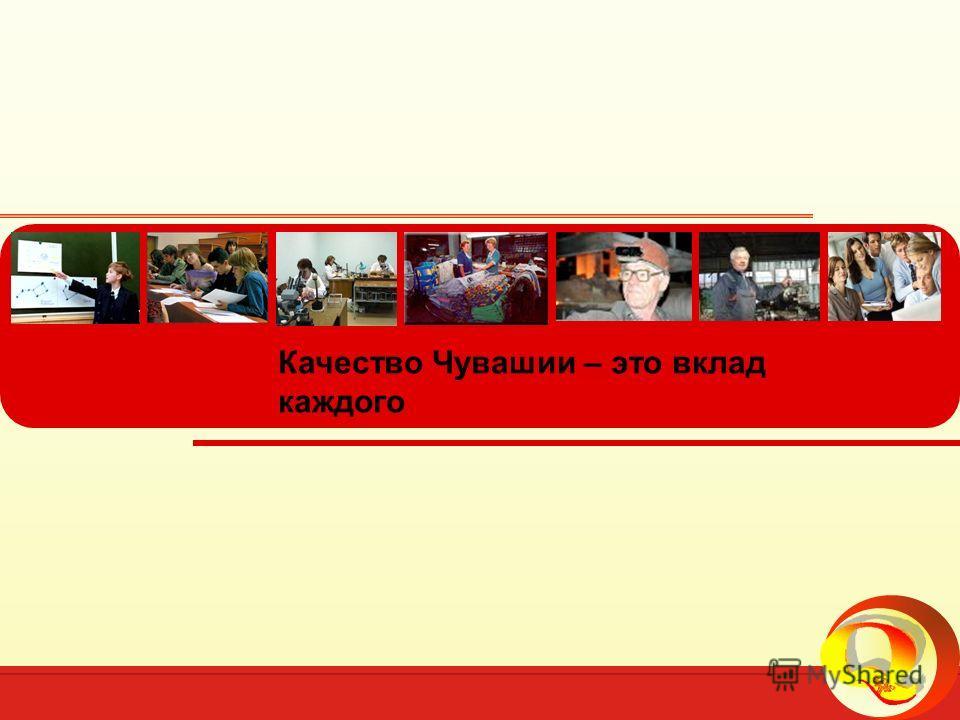 Всемирный День качества в Чувашской Республике, 2010 год 25 Качество Чувашии – это вклад каждого