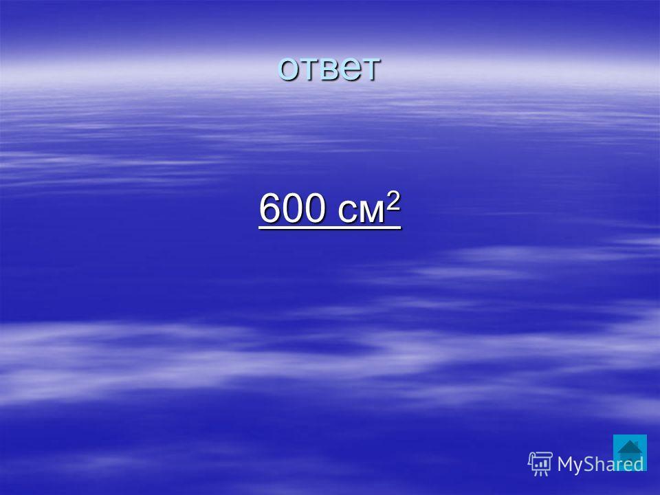 ответ 600 см 2