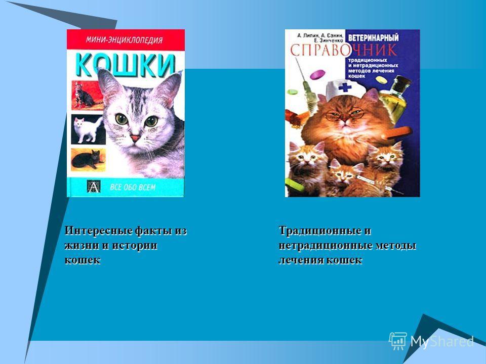 Интересные факты из жизни и истории кошек Традиционные и нетрадиционные методы лечения кошек
