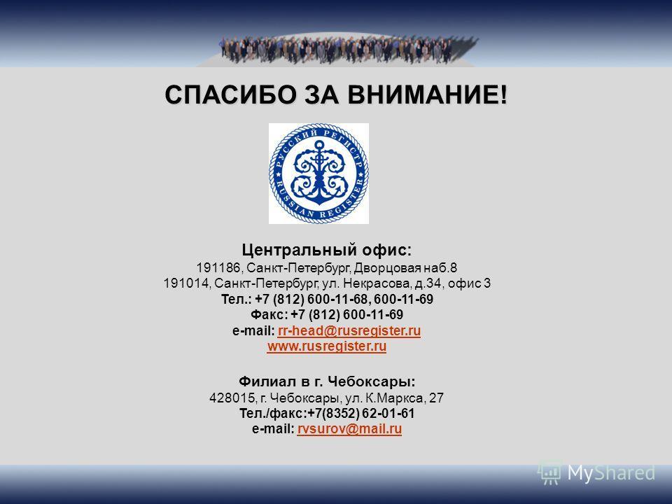 Центральный офис: 191186, Санкт-Петербург, Дворцовая наб.8 191014, Санкт-Петербург, ул. Некрасова, д.34, офис 3 Тел.: +7 (812) 600-11-68, 600-11-69 Факс: +7 (812) 600-11-69 e-mail: rr-head@rusregister.rurr-head@rusregister.ru www.rusregister.ru Филиа