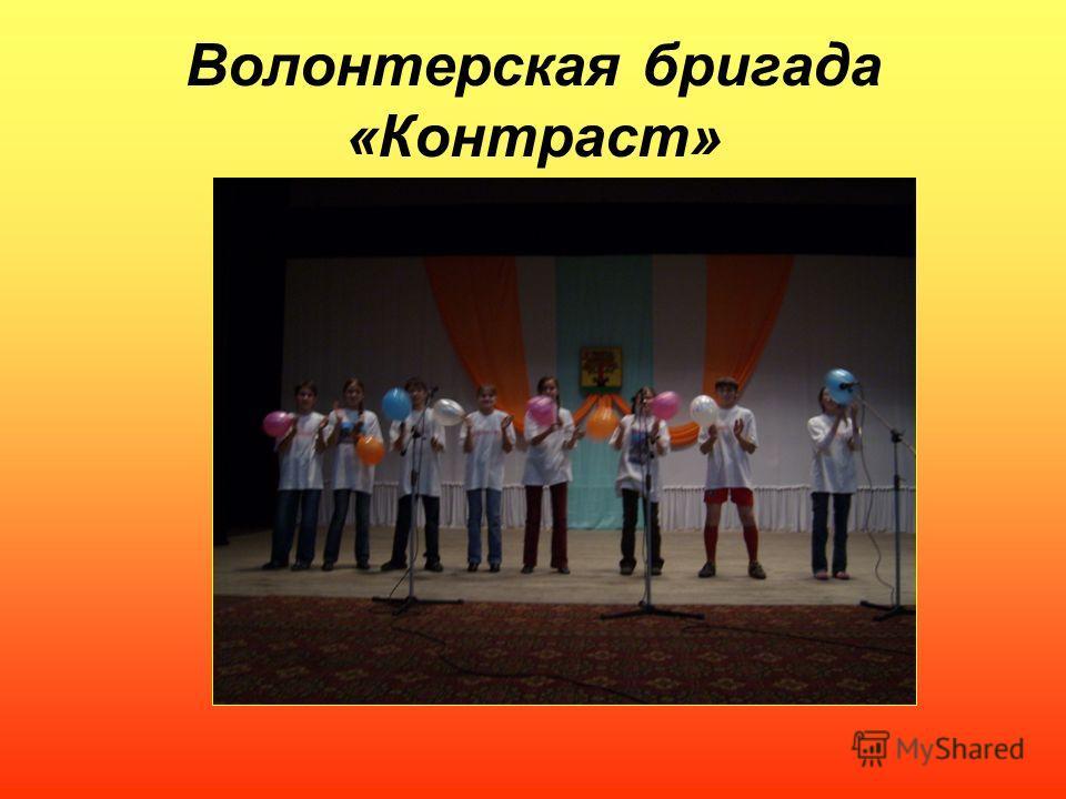 Волонтерская бригада «Контраст»