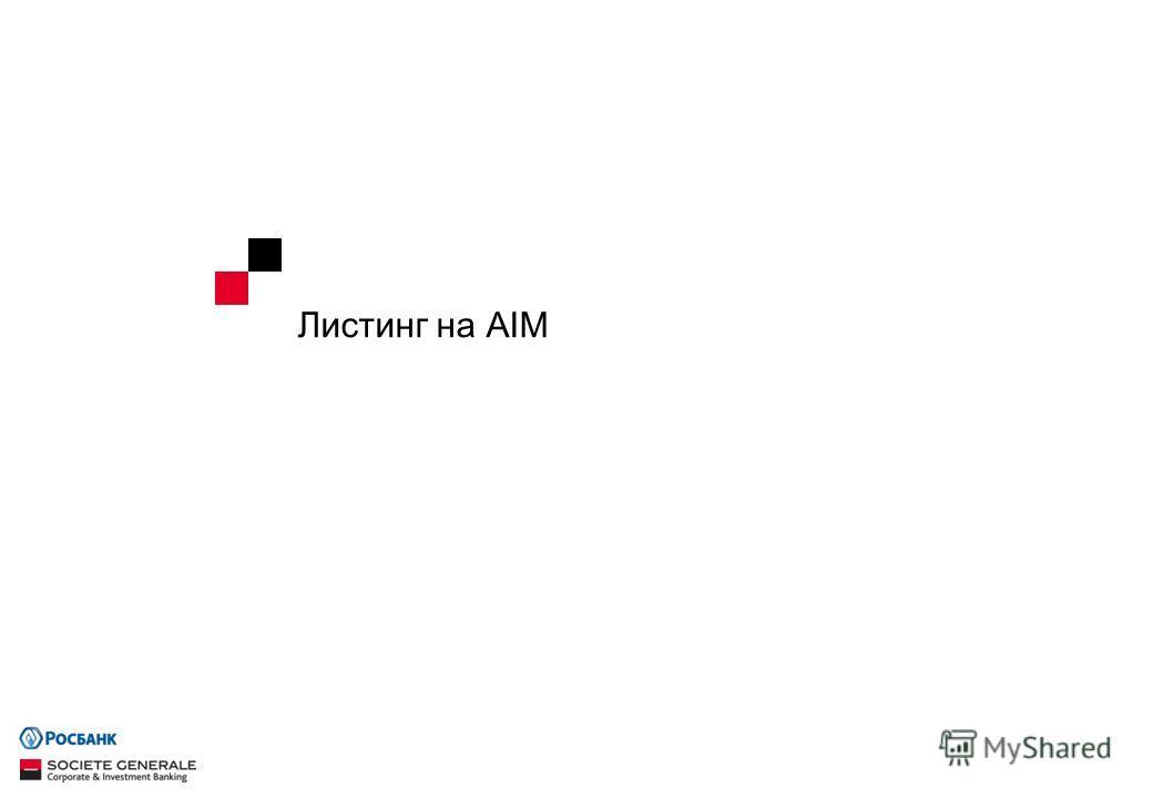 Листинг на AIM