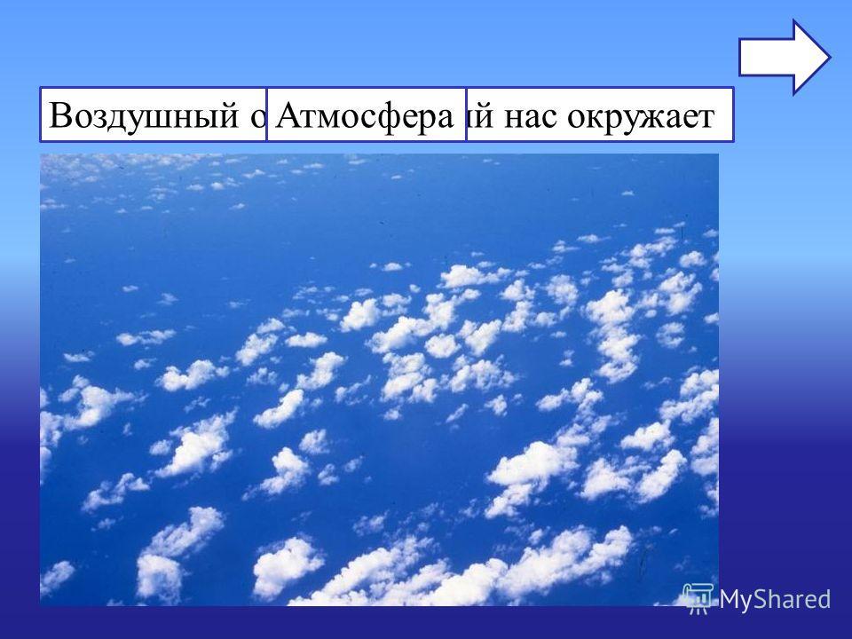 Воздушный океан, который нас окружаетАтмосфера