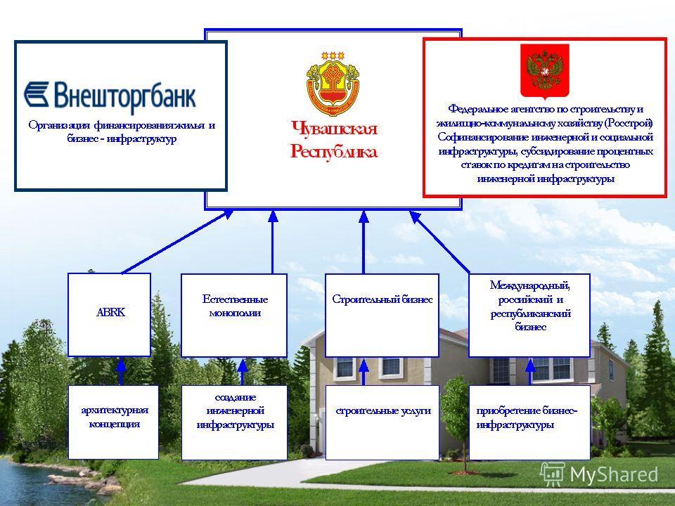 Организационная модель частно-государственного партнерства по реализации проекта «Новый город»