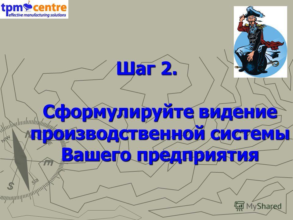 Шаг 2. Сформулируйте видение производственной системы Вашего предприятия