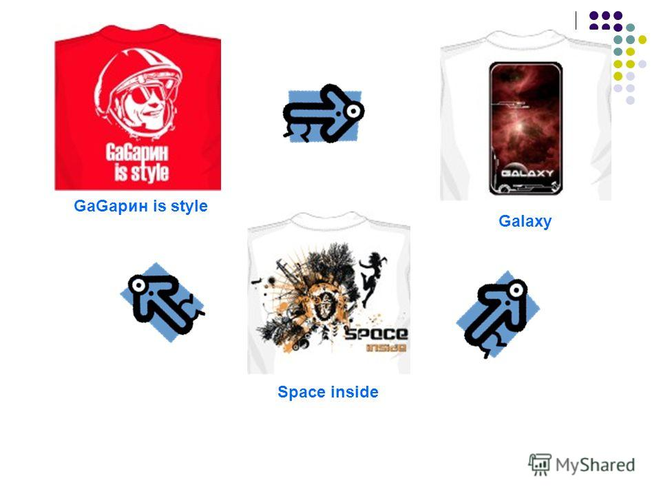 GaGaрин is style Space inside Galaxy