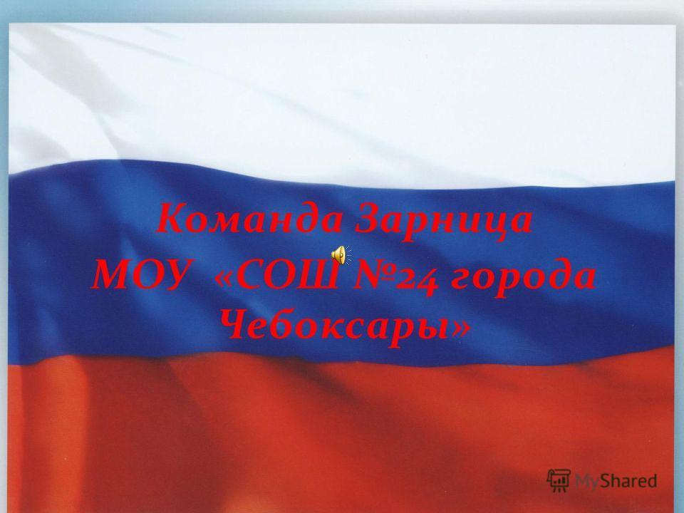 Команда Зарница МОУ «СОШ 24 города Чебоксары»