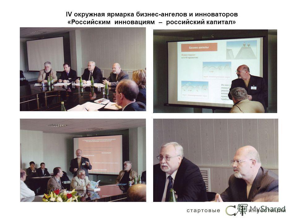 IV окружная ярмарка бизнес-ангелов и инноваторов «Российским инновациям – российский капитал»