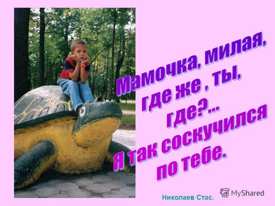 Николаев Стас.