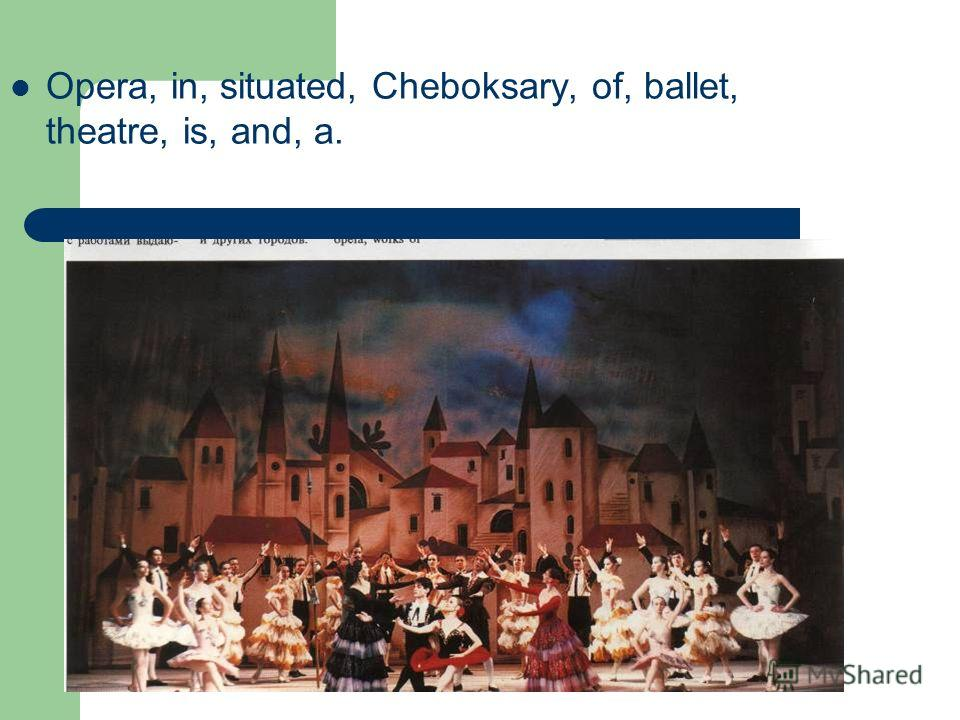 Opera, in, situated, Cheboksary, of, ballet, theatre, is, and, a.
