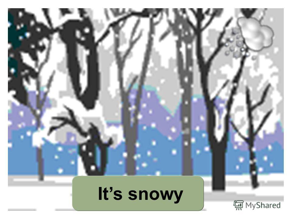 Its snowy