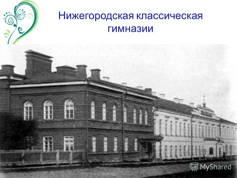 Нижегородская классическая гимназии