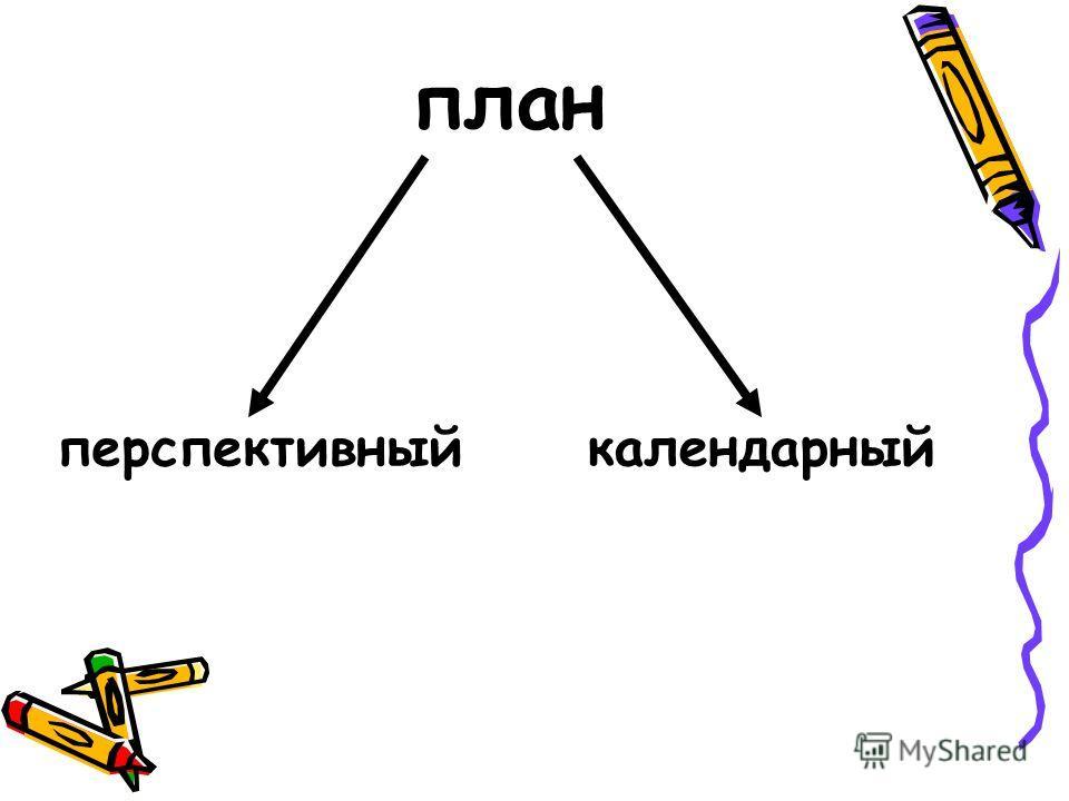 план перспективныйкалендарный