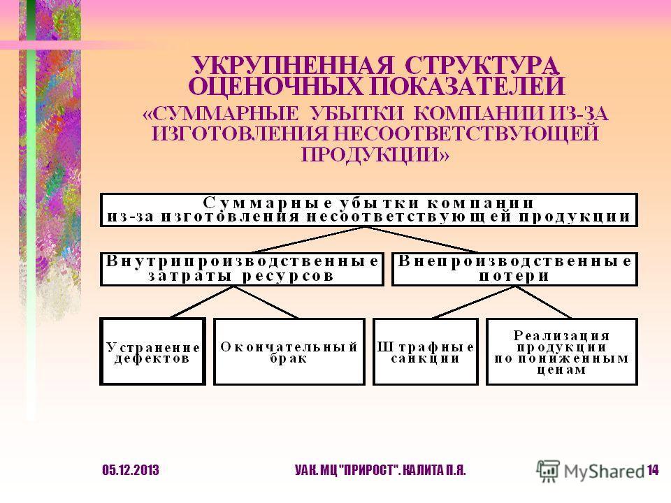 05.12.2013УАК. МЦ ПРИРОСТ. КАЛИТА П.Я.14