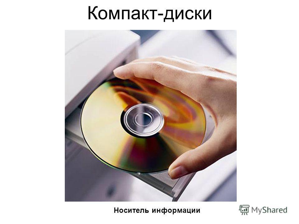 Компакт-диски Носитель информации