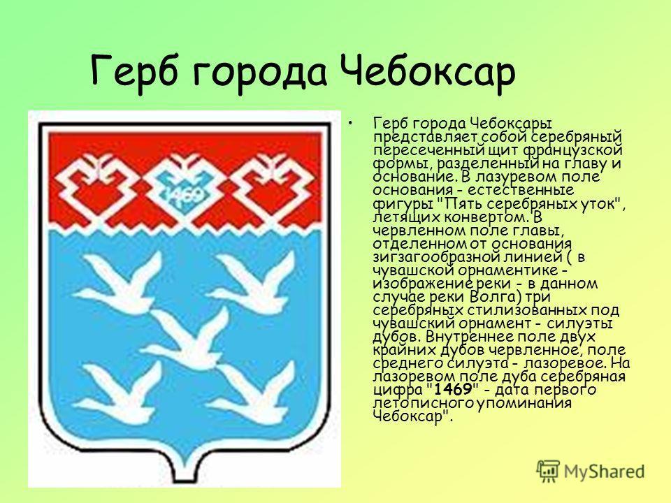 гербы городов чувашии: