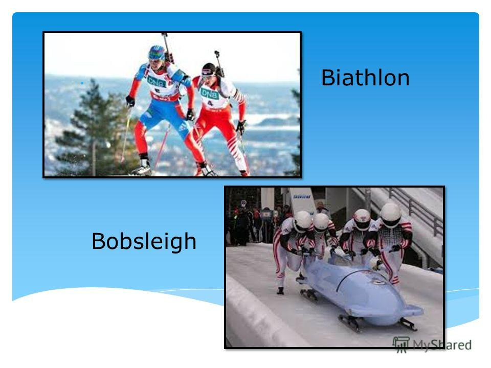 Biathlon Bobsleigh