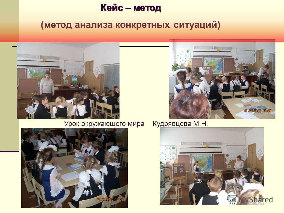Урок окружающего мира Кудрявцева М.Н. Кейс – метод (метод анализа конкретных ситуаций)